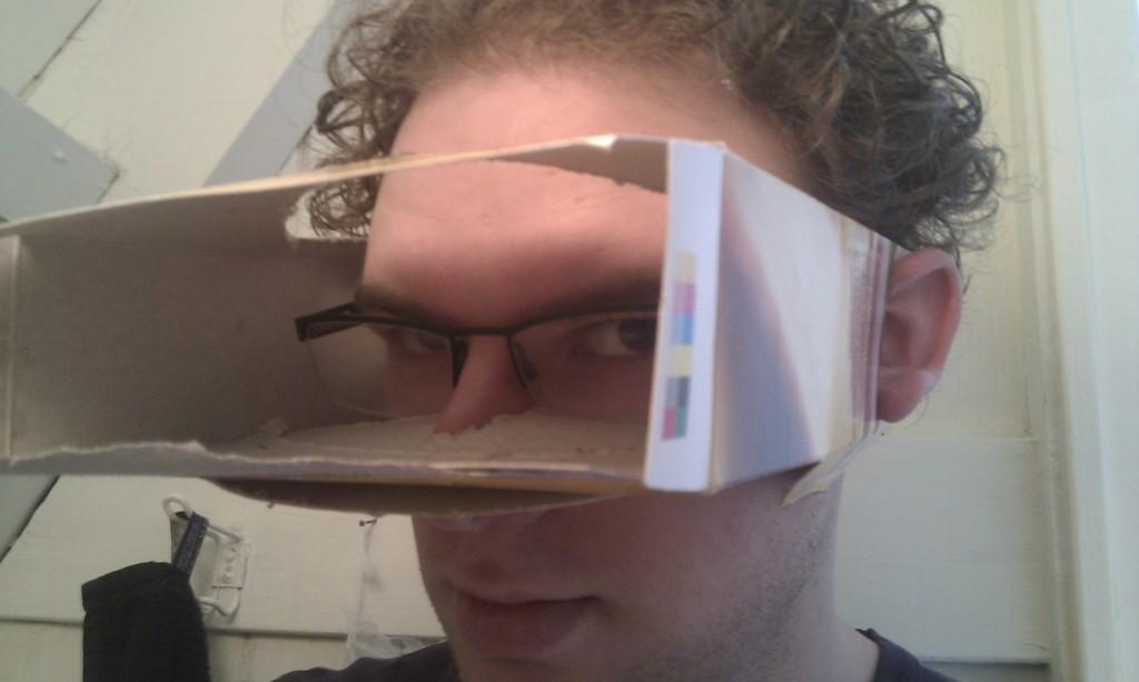 #Tunnelvisie, versie 0.1. Geen (visuele) afleiding meer! En knutsel er...