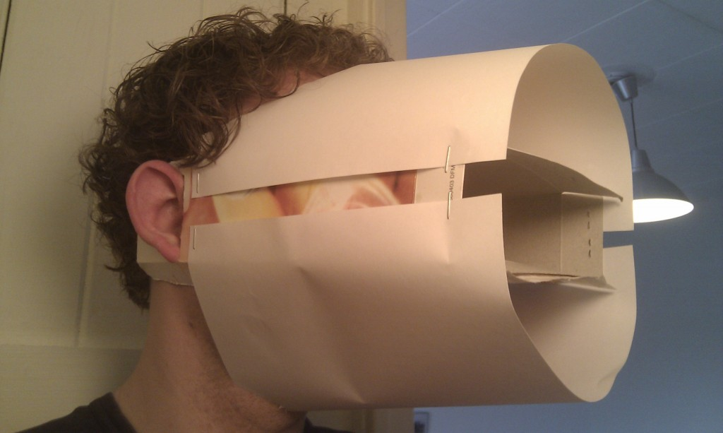 #Tunnelvisie 1.0 beta. Comfortabel is anders, maar het werkt. Soort van....